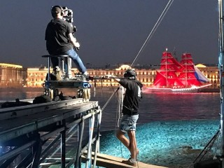 Prepare for shooting Scarlet Sails