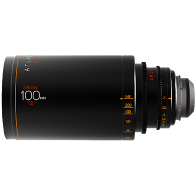 Atlas Orion 100mm, T2, Ø 114 mm, 2x Anamorphic