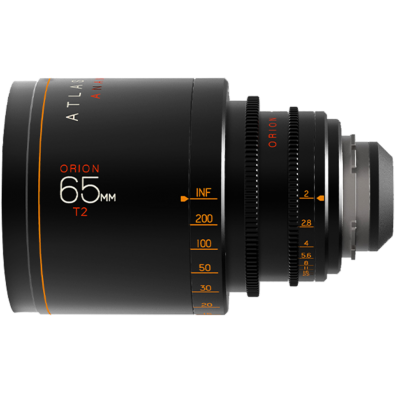 Atlas Orion 65mm, T2, Ø 114 mm, 2x Anamorphic